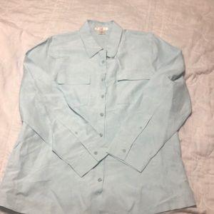 Tommy Bahama silk/linen blend shirt